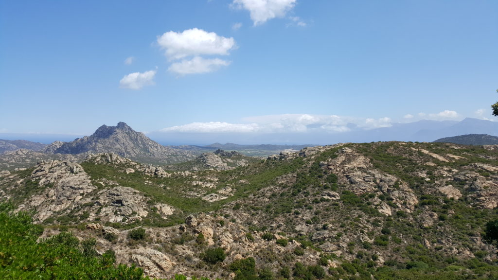 Agriates desert - Motorcycle touring in Corsica