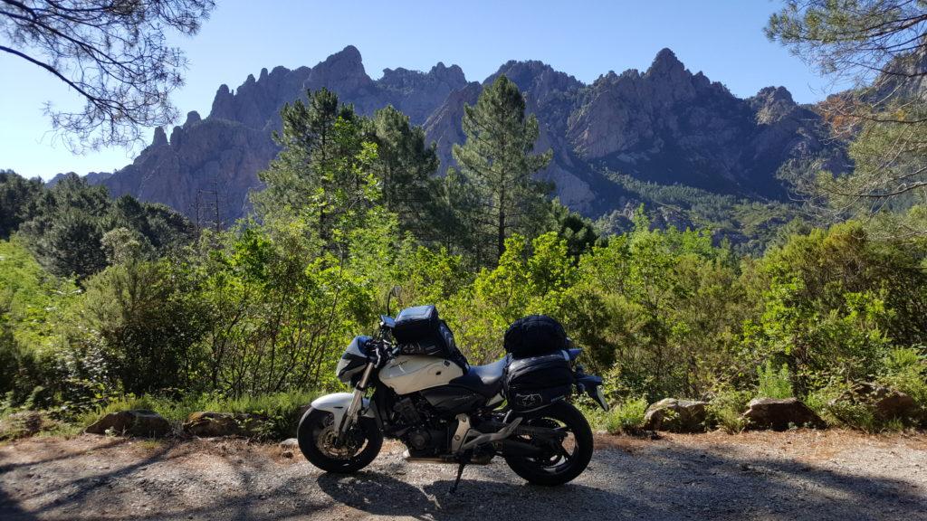 Aiguilles de Bavella - Motorcycle touring in Corsica