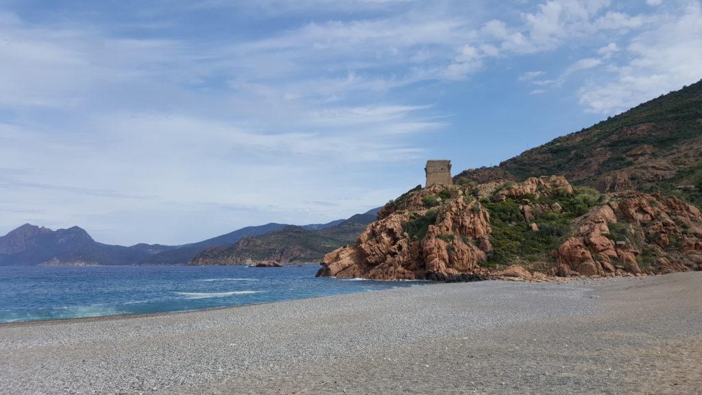 Porto Ôta - Gulf of Porto - Motorcycle touring in Corsica