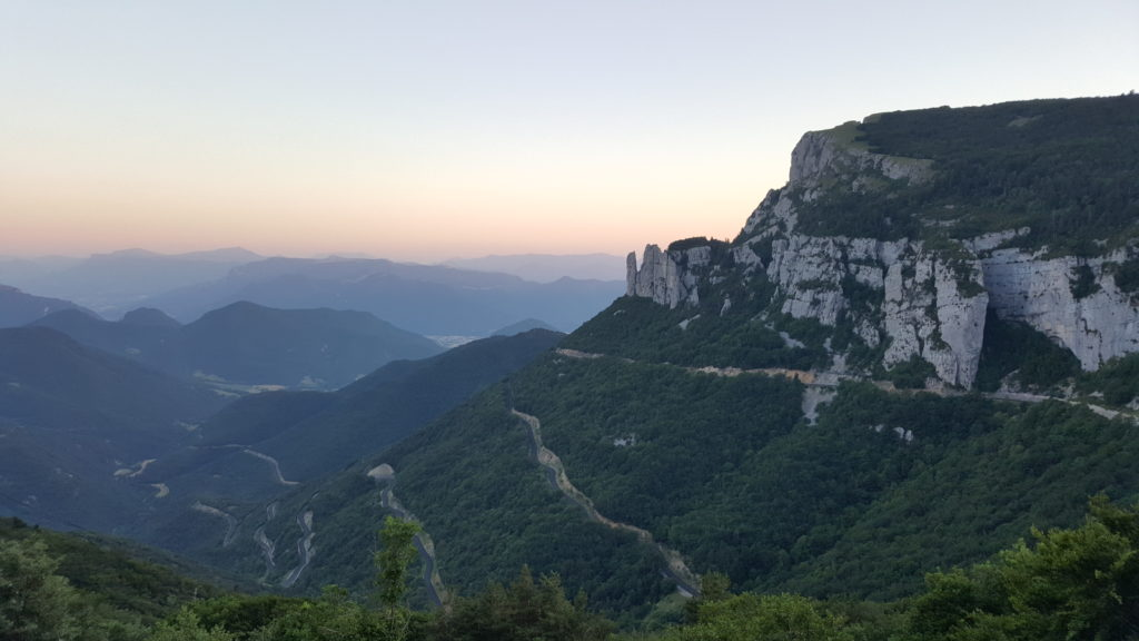 Col du Rousset - motorcycle touring in France