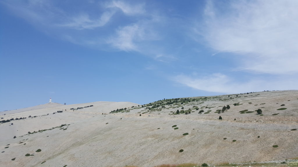 Mont Ventoux - motorcycle touring in France