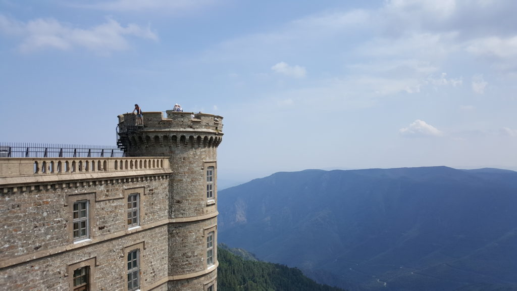 Mont Aigoual - motorcycle touring in France