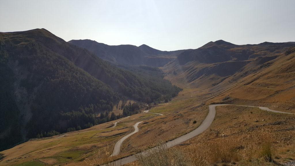 Col de la Bonette - motorcycle touring in France
